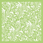 Swirl Flourish Template - KaiserCraft