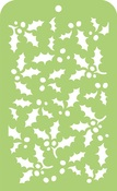 Holly Leaves Template - KaiserCraft