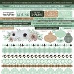 Mint Wishes Cardstock Sticker Sheet - KaiserCraft