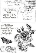 Rose Avenue Clear Stamps - KaiserCraft