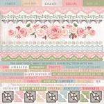 Rose Avenue Cardstock Sticker Sheet - KaiserCraft