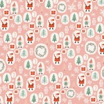 Elves Paper - Oh What Fun - My Minds Eye - PRE ORDER