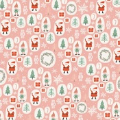 Elves Paper - Oh What Fun - My Minds Eye