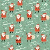Santa Paper - Oh What Fun - My Minds Eye
