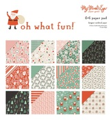 Oh What Fun 6 x 6 Paper Pad - My Minds Eye