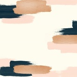 Swatch Foiled Paper - Blush - My Minds Eye - PRE ORDER