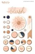 Blush Brads - My Minds Eye