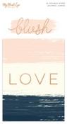 Blush Journal Cards - My Minds Eye