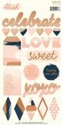 Blush Sticker Sheet - My Minds Eye