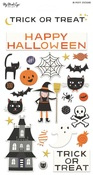 Trick Or Treat Puffy Stickers - My Minds Eye