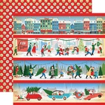 Border Strips Paper - A Very Merry Christmas - Carta Bella