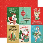 4 x 6 Journaling Card Paper - A Very Merry Christmas - Carta Bella