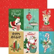 4 x 6 Journaling Card Paper - A Very Merry Christmas - Carta Bella