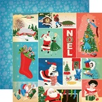 Christmas Festivities Paper - A Very Merry Christmas - Carta Bella