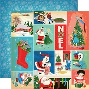 Christmas Festivities Paper - A Very Merry Christmas - Carta Bella