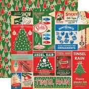 Vintage Packaging Paper - A Very Merry Christmas - Carta Bella