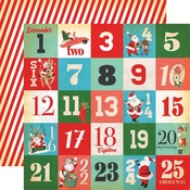 Days Of Christmas Paper - A Very Merry Christmas - Carta Bella