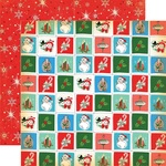 Christmastime Squares Paper - A Very Merry Christmas - Carta Bella