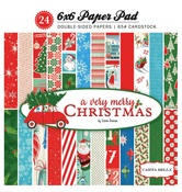 A Very Merry Christmas 6 x 6 Paper Pad - Carta Bella