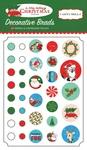 A Very Merry Christmas Brads - Carta Bella
