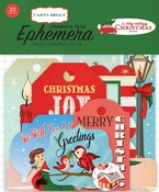 A Very Merry Christmas Frames & Tags Ephemera - Carta Bella