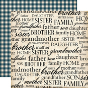 My Family Paper - Our Family - Carta Bella