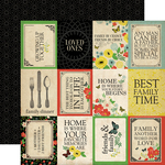 3X4 Journaling Cards Paper - Our Family - Carta Bella - PRE ORDER
