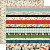 Border Strips Paper - Our Family - Carta Bella