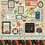 Our Family Sticker Sheet - Carta Bella