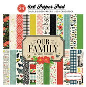 Our Family 6x6 Paper Pad - Carta Bella