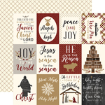 3x4 Journaling Cards Paper - Wise Men Still Seek Him - Echo Park