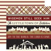 Border Strips Paper - Wise Men Still Seek Him - Echo Park