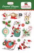 A Very Merry Christmas Enamel Shapes - Carta Bella