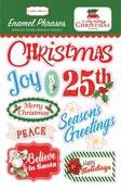 A Very Merry Christmas Enamel Phrases - Carta Bella