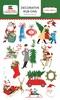 A Very Merry Christmas Rub-Ons - Carta Bella