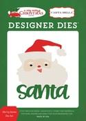 Merry Santa Die Set - Carta Bella