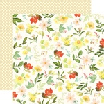 Gather Flowers Paper - Welcome Home - Carta Bella - PRE ORDER