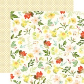 Gather Flowers Paper - Welcome Home - Carta Bella