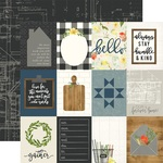 3 x 4 Journaling Card Paper - Welcome Home - Carta Bella - PRE ORDER