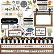 Welcome Home Sticker Sheet - Carta Bella