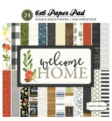 Welcome Home 6 x 6 Paper Pad - Carta Bella