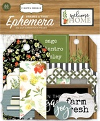 Welcome Home Frames & Tags Ephemera - Carta Bella