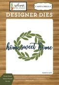 Home Sweet Home Wreath Die Set - Carta Bella