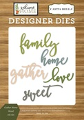 Gather Home Word Die Set - Carta Bella - PRE ORDER