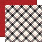 Present Plaid Paper - Twas The Night Before Christmas - Echo Park - PRE ORDER