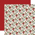 Candy Christmas Paper - Twas The Night Before Christmas - Echo Park