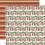 Jolly Stockings Paper - Twas The Night Before Christmas - Echo Park - PRE ORDER
