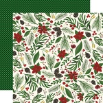 Berry Christmas Paper - Twas The Night Before Christmas - Echo Park - PRE ORDER