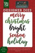 Holiday Season Word Die Set - Echo Park