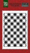 Holiday Buffalo Plaid Stamp - Echo Park